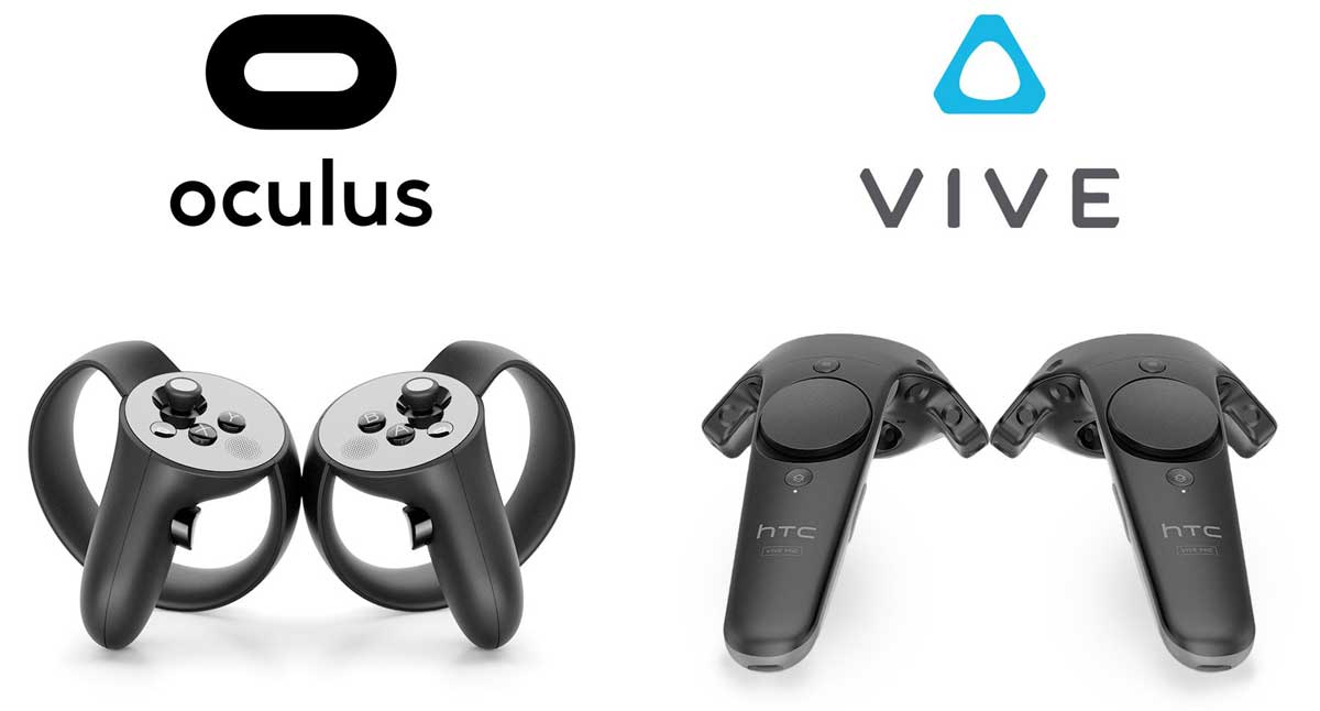 Oculus Touch y Mandos HTC Vive